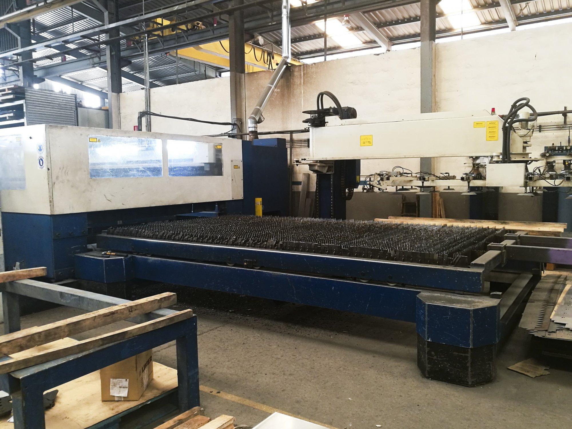 trumpf trumatic l4030 laser cutting machine rh gindumac com