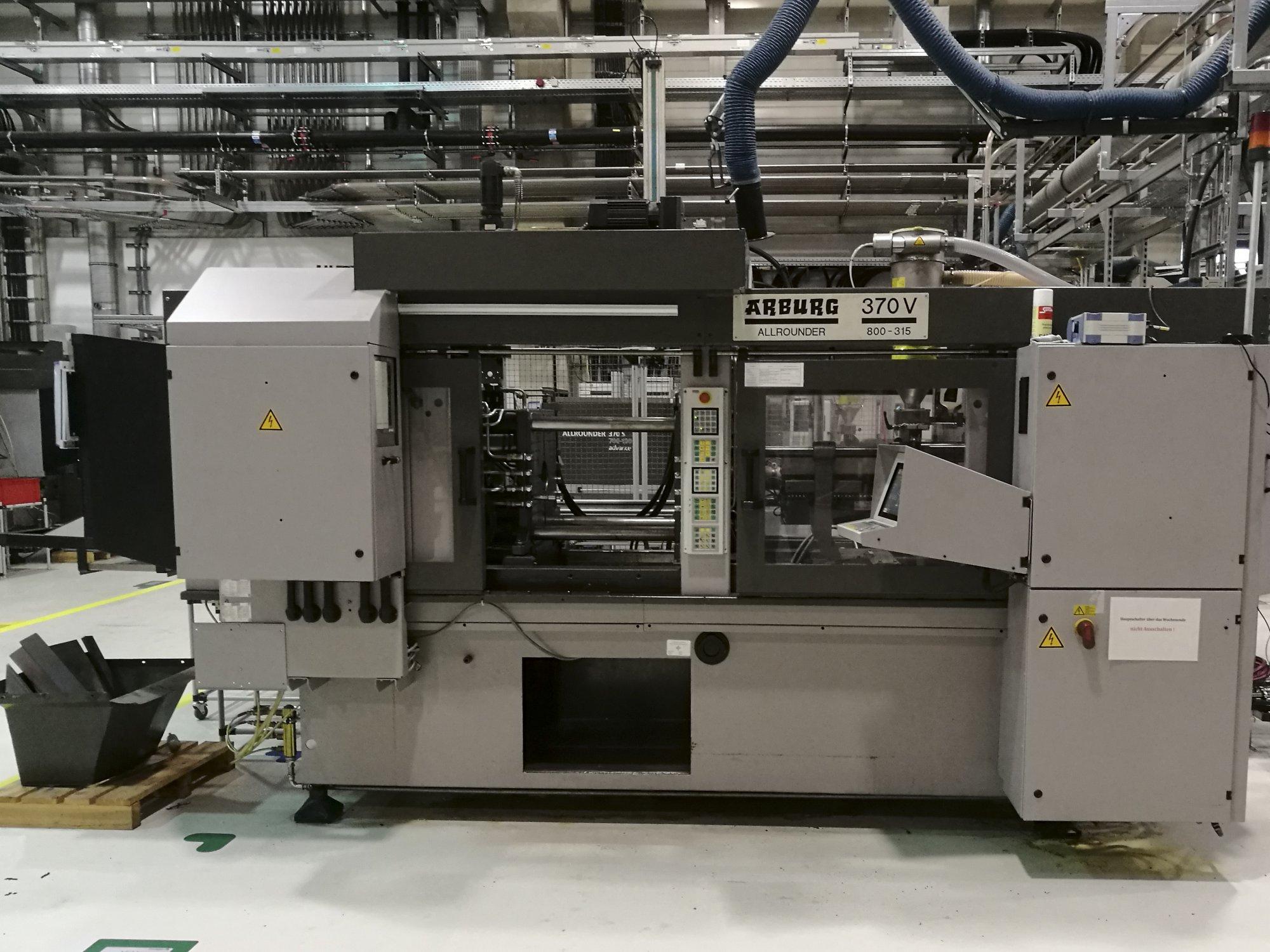 Arburg 370V 800-315 Injection Moulding Machine