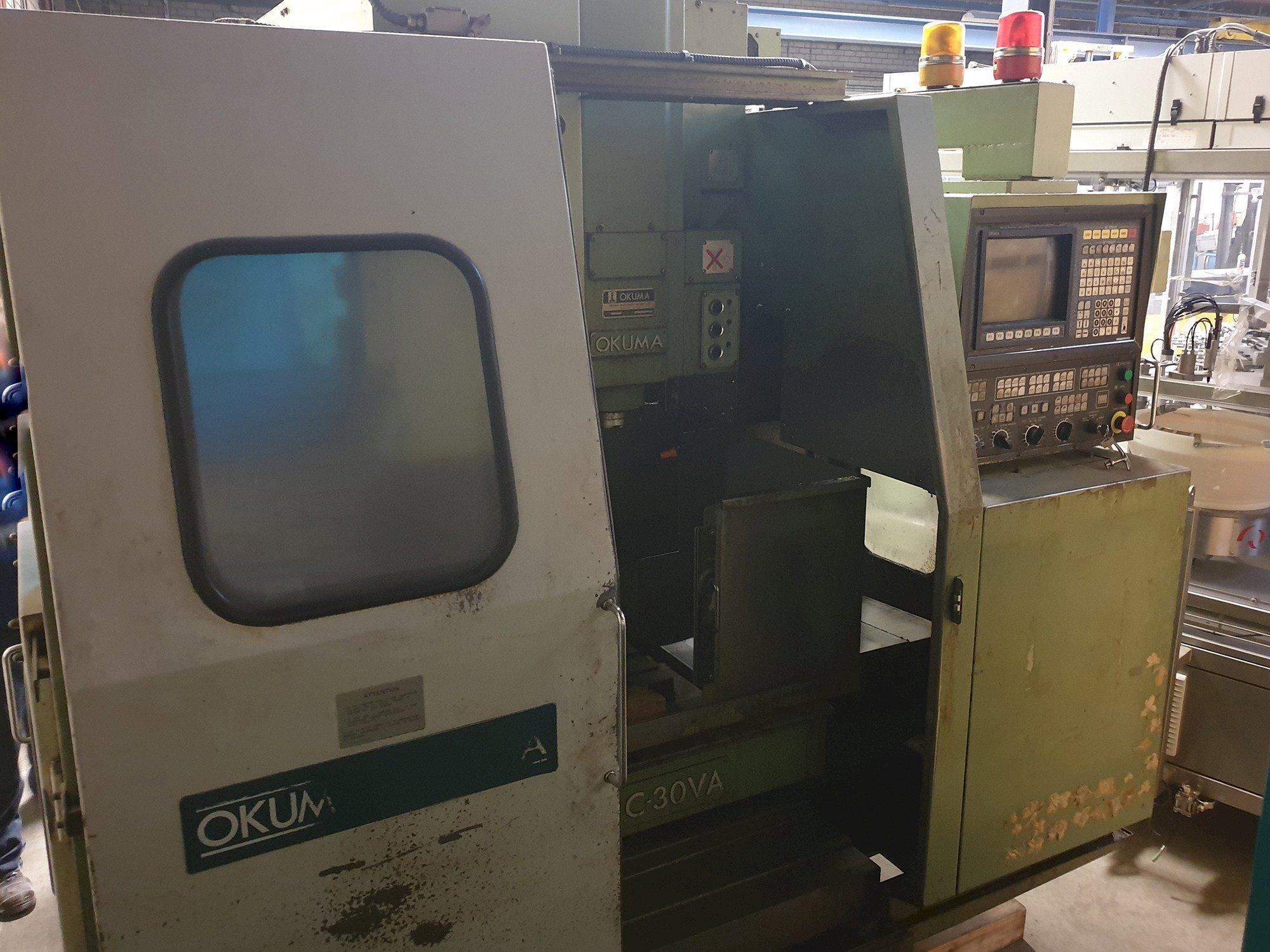 Okuma MC-30VA Vertical Machining Center
