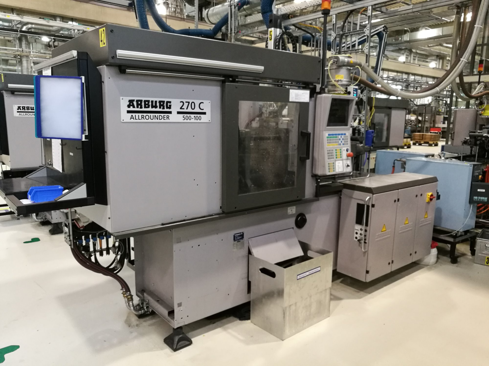 Arburg 270C 500-100 Injection Moulding Machine
